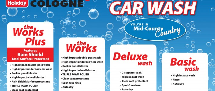 Get a Car Wash for Spring!