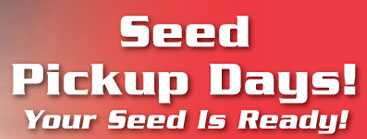 Seed Pickup Days! – Monday, March 20 & Tuesday March 21