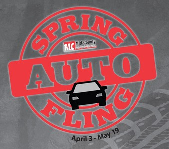 Check out our Auto Spring Fling, Great Deals Now through May 19th!