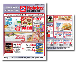 Great Deals at your Local Holiday Cologne • March 30 – April 26