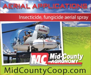 Aerial Applications by Mid-County Agronomy