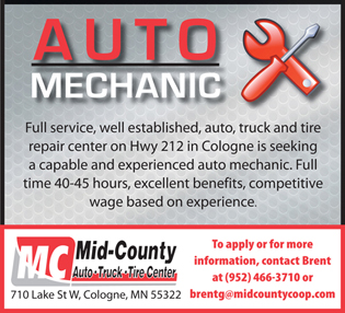 Now Hiring in the Auto Truck and Tire Center
