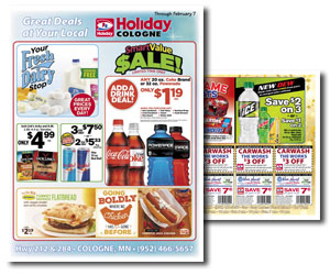 Great Deals at your Local Holiday Cologne • Through February 7