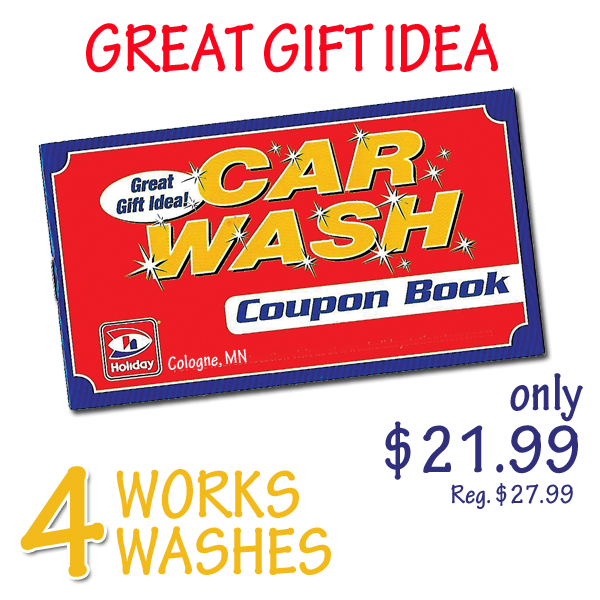 Great Gift Idea Holiday Car Wash Coupon Book Mid County Coop