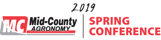 Agronomy Spring Conference 2019 – March 15, 2019 – 11:00 am – 1:00 pm