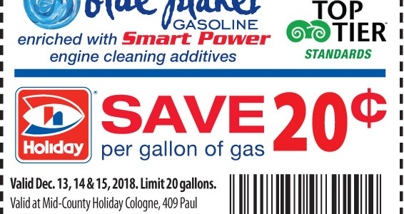 BIG SAVINGS at your local Holiday Cologne through January 2