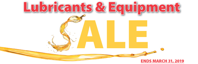 Lube and Equipment Sale