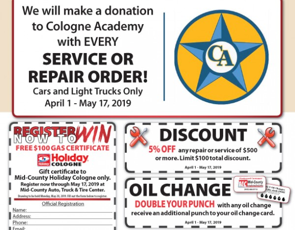 Auto Spring Fling 2019 – Mid-County Coop